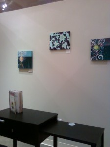 Original Painting Gem #2 by Masako displayed at 757 Creative Space