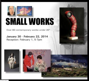 small works at Limner Gallery 2014